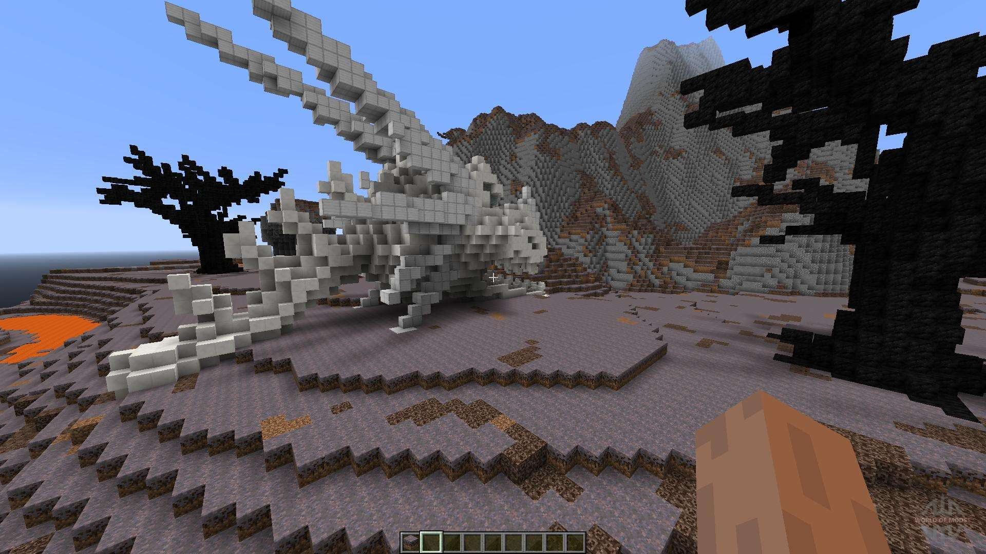 wasteland of the dragons pour minecraft. Black Bedroom Furniture Sets. Home Design Ideas