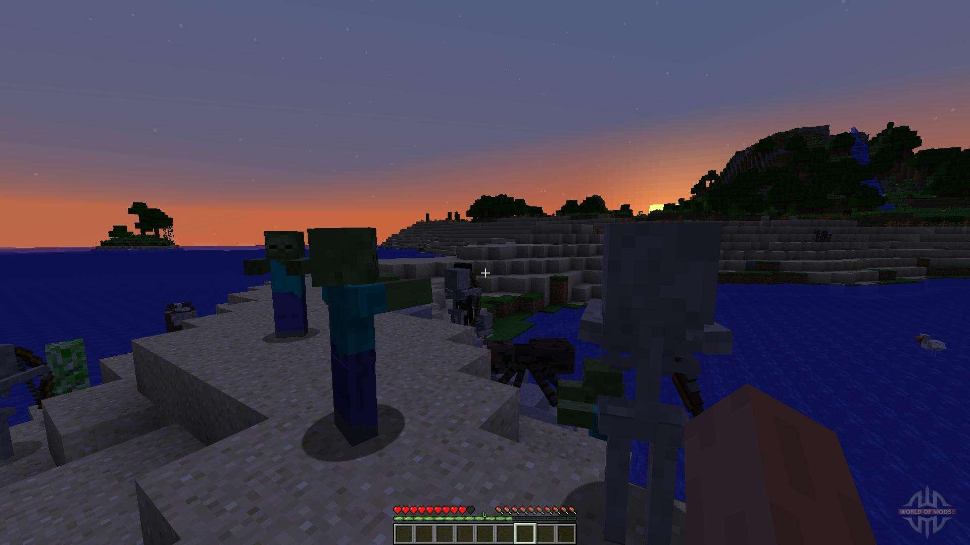 Ender Island A Difficult Island Survival Map für Minecraft