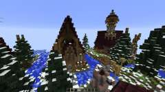 The Hobbit Esgaroth in Minecraft
