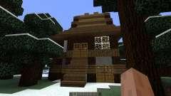 Small winter home für Minecraft