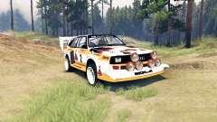 Audi Sport quattro S1 pour Spin Tires