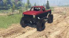 Ford F-350 1984 v1.1 pour Spin Tires