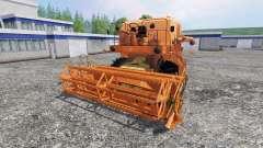 Bizon Z056 [orange] pour Farming Simulator 2015