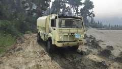 KamAZ 4911 Rallye Extrême pour Spin Tires