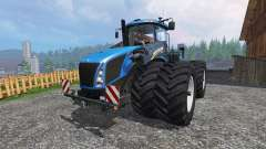 New Holland T9.670 DuelWheel v1.1 pour Farming Simulator 2015