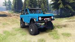 Ford Bronco 1966 [blue] für Spin Tires