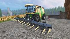 Krone Big X 1100 [tank 300000 liters] [crusher]