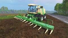 Krone Big X 1100 [twin fronts wheels 2] für Farming Simulator 2015