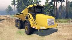 Liebherr Dump Truck v0.01 für Spin Tires