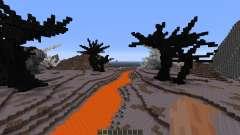 Wasteland of the dragons für Minecraft