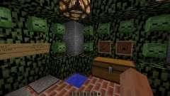 Zombie Survival Map für Minecraft