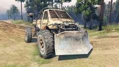 Machine de Metro 2033 pour Spin Tires