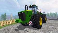 John Deere 9630 terra tires