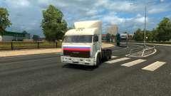 """KamAZ 54115 Serie """"Trucker"""" für Euro Truck Simulator 2"""