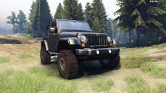 Jeep Wrangler black für Spin Tires