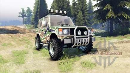 Mitsubishi Pajero I für Spin Tires
