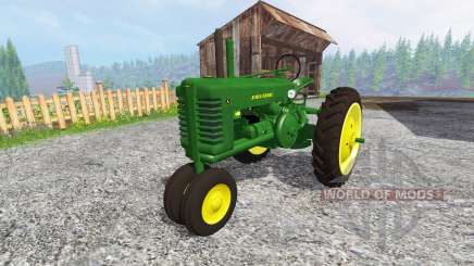 John Deere Model A [update] pour Farming Simulator 2015
