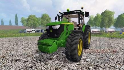 John Deere 6170R v3.5 für Farming Simulator 2015