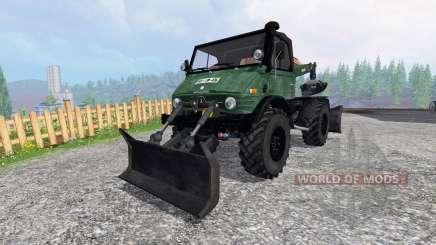 Mercedes-Benz Unimog 416 Forst pour Farming Simulator 2015