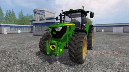 John Deere 6170R v2.2 pour Farming Simulator 2015