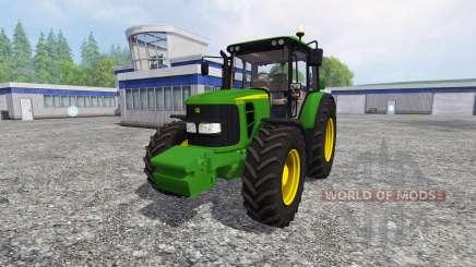 John Deere 6330 Premium FL für Farming Simulator 2015