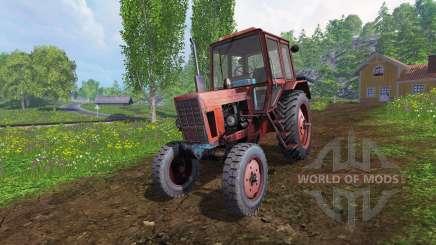 MTZ-80 [rot] v2.0 für Farming Simulator 2015