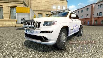 Jeep Grand Cherokee SRT8 v1.2 für Euro Truck Simulator 2