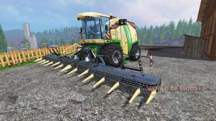 Krone Big X 1100 [tank 300000 liters] [crusher] pour Farming Simulator 2015