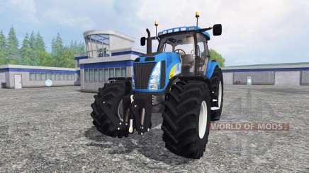 New Holland T8020 v4.5 für Farming Simulator 2015