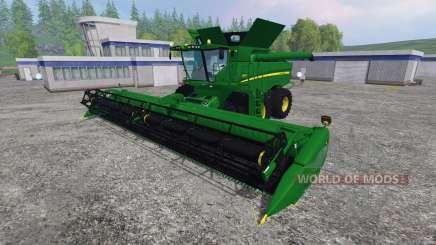 John Deere S680 für Farming Simulator 2015