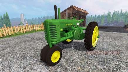 John Deere Model A pour Farming Simulator 2015