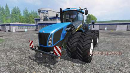 New Holland T9.700 [dual wheel] v1.1 pour Farming Simulator 2015
