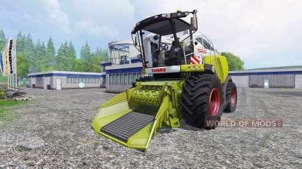 CLAAS Jaguar 980 [forest] pour Farming Simulator 2015