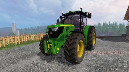 John Deere 6170R v2.1 pour Farming Simulator 2015