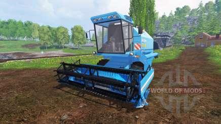 Bizon Z058 für Farming Simulator 2015