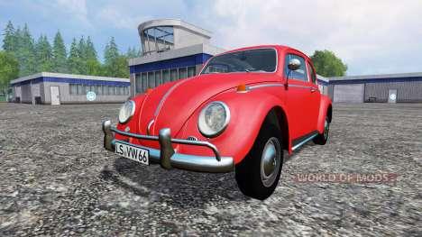 Volkswagen Beetle 1966 pour Farming Simulator 2015