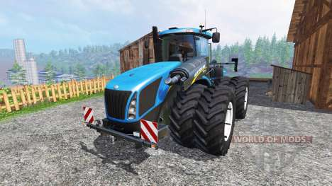 New Holland T9.560 DuelWheel v3.0.2 für Farming Simulator 2015