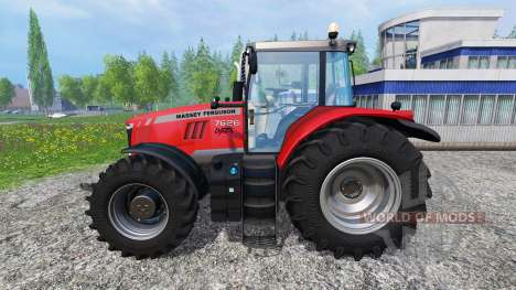 Massey Ferguson 7626 v1.5 pour Farming Simulator 2015
