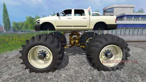 PickUp Monster Truck [super diesel] für Farming Simulator 2015