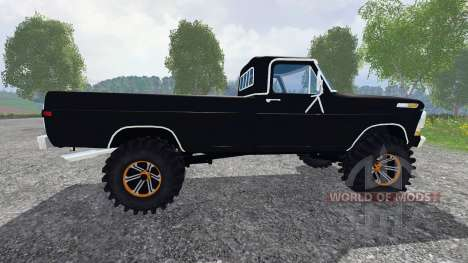 Ford F-250 Highboy 1972 für Farming Simulator 2015