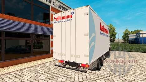 Scania R500 BDF Hellmann für Euro Truck Simulator 2