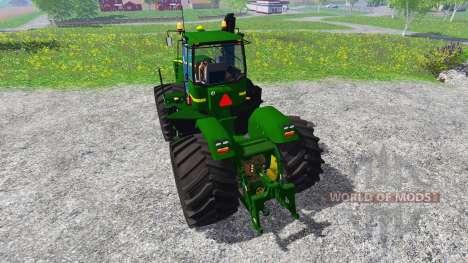 John Deere 9630 v2.0 [selectable wheels] pour Farming Simulator 2015