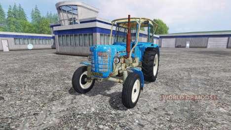Zetor 4011 v0.2 pour Farming Simulator 2015