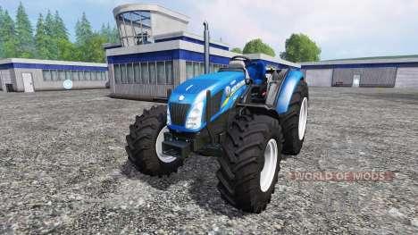 New Holland T4.75 [no roof] für Farming Simulator 2015