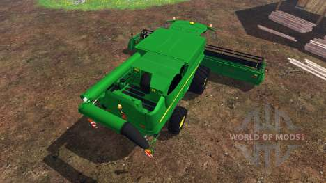 John Deere S 690i v2.0 pour Farming Simulator 2015
