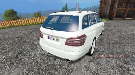 Mercedes-Benz E350 CDI Estate v1.1 für Farming Simulator 2015