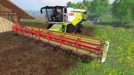 CLAAS Lexion 750 v1.3 pour Farming Simulator 2015