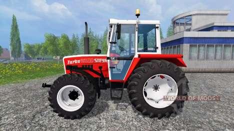 Steyr 8090A Turbo SK2 [larmarm] für Farming Simulator 2015