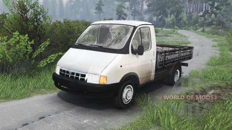 GAZ-3302 Gazelle v1.1 pour Spin Tires
