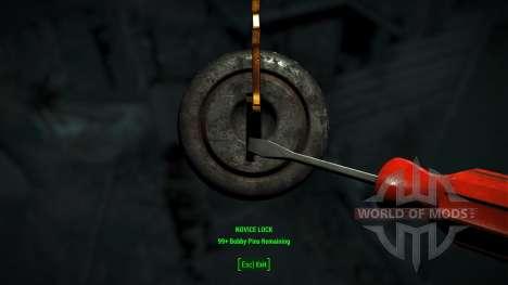 Crochetage facile pour Fallout 4